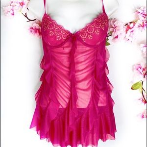New Victoria's Secret Pink Shimmer Nightie